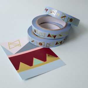 Tape GOLD blue 19mm