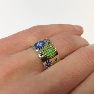 Embroidery ring Glacial 1