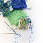 Embroidery ring Glacial 4