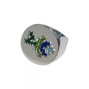 Embroidery ring Glacial 5