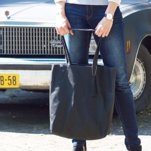 DIY kit Leather Tote Bag