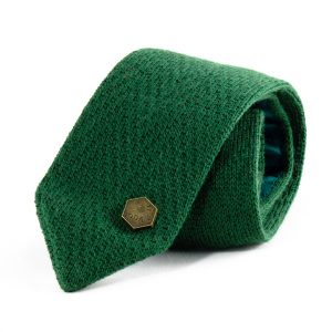 Feringa knitted tie - Green