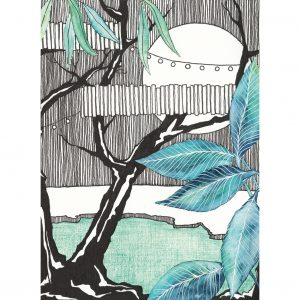 Art Print Moonlight Party