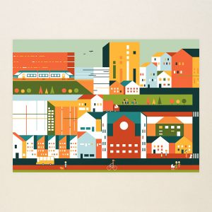 A new larger outer city 1, Limited print