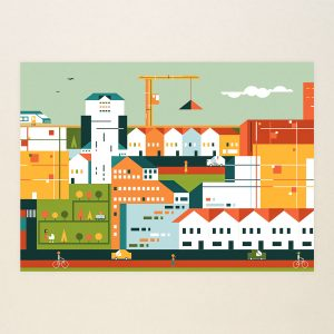 A new larger outer city 2, Limited print