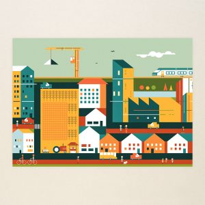 A new larger outer city 3, Limited print