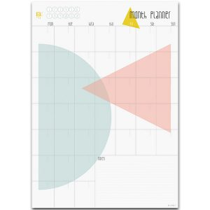 month planner A3