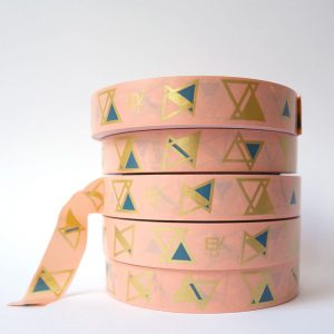 Tape GOLD pink 19mm