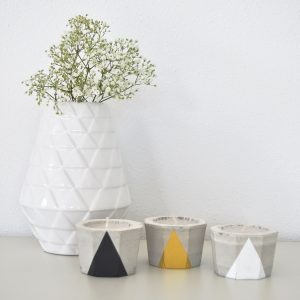 DIY kit Concrete Votives