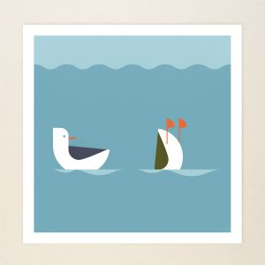 Pair of Ducks, Limited print